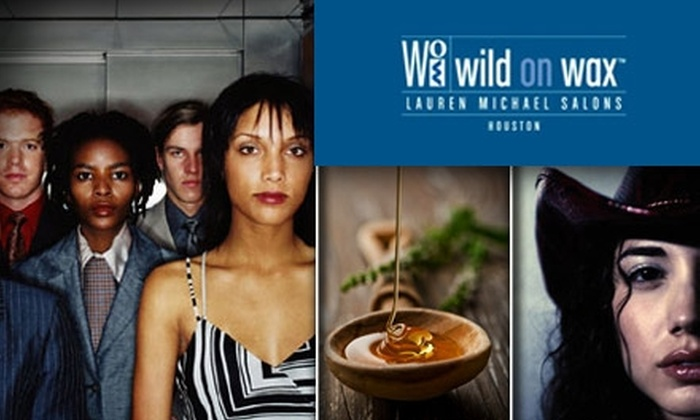 Wild on Wax - Houston: $30 for $75 Worth of Waxing Services at Wild on Wax