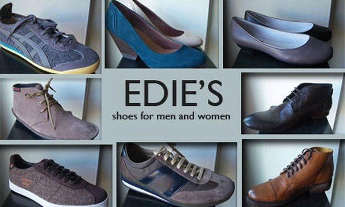 Edie's Shoes - Broadway: $35 for $80 Worth of Fashionable Footwear at Edie's Shoes