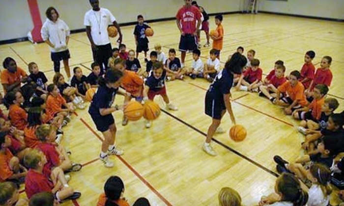 Legarza Basketball Camp - Multiple Locations: $95 for One Week-Long Half-Day Summer Camp at Legarza Basketball Camp ($190 value)