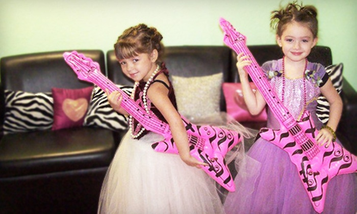 Be Girly - Colleyville: Mini Princess Pampering Sessions for Two or Three at Be Girly (Up to 57% Off)