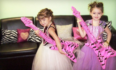 3040 Minute Mini Princess Pampering Package for 2 (a $53.98 value) - Be Girly in Colleyville