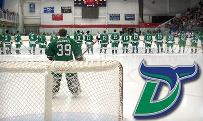 Danbury Whalers - Danbury: $6 for General Admission Ticket to a Danbury Whalers Game on November 20 ($12 Value)