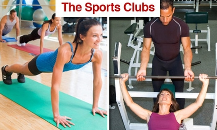 The Sports Clubs New Mexico - Multiple Locations: $30 for a 30-Day Membership and One Personal-Training Session at The Sports Clubs ($94 Value)