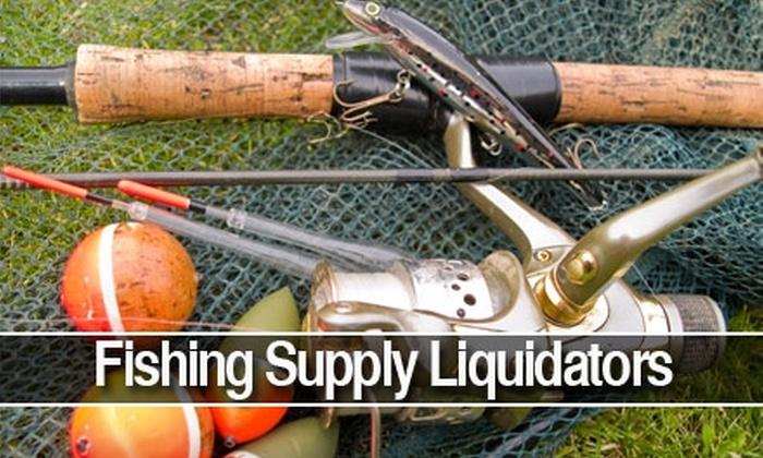 Fishing Supply Liquidators - Oldsmar: $5 for $10 Worth of Fishing Supplies at Fishing Supply Liquidators