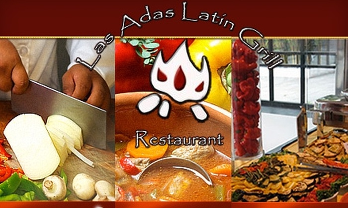 Las Adas Latin Grill - Memorial: $12 for $25 Worth of Latin Dinner Fare at Las Adas Latin Grill