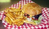 Half Off Burgers or Gyros at Old Town Burger