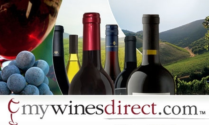 MyWinesDirect.com: $45 for a Six-Bottle Tasting Pack Shipped to Your Door from MyWinesDirect.com (Up to $90 Value)