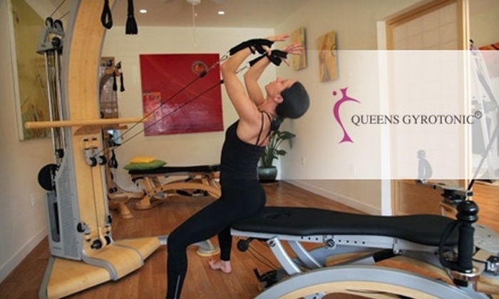 Queens Gyrotonic - Sunnyside: $55 for Two Private Gyrotonic Classes at Queens Gyrotonic ($150 Value)