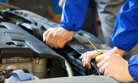 Regular-Oil Change, Tire Rotation, Battery-Corrosion Package, and Full Inspection (a $61.97 value) - Beckett's Automotive Center in Columbia