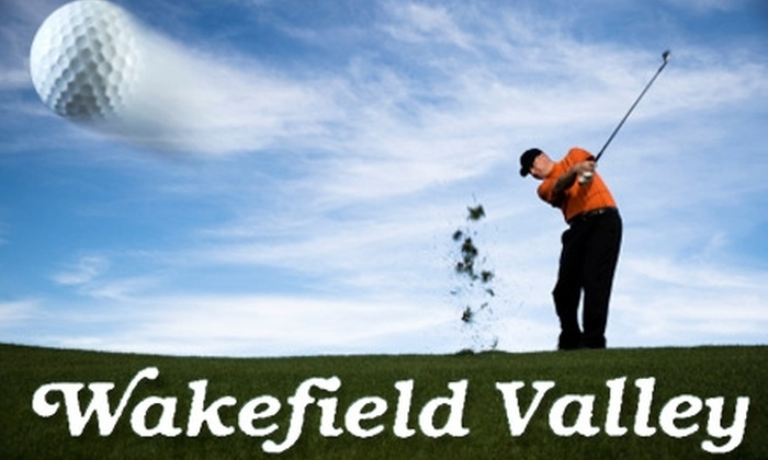 Wakefield Valley Golf Club - Westminster: $55 for a Round of Golf for Two Plus Cart at Wakefield Valley Golf Club (Up to $120 Value)