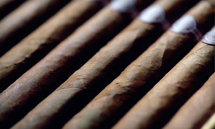 Stogies World Class Cigars - Great Uptown: Cigars and Accessories at Stogies World Class Cigars (Half Off). Two Options Available.