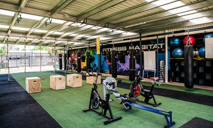 10Class Fitness Pass for One $10 or Two People $19 at Fitness Habitat Up to $400 Value