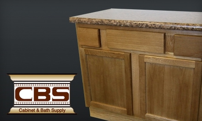 CBS Cabinets - Union Chapel: $100 for a 36-Inch Vanity at CBS Cabinets ($200 Value)