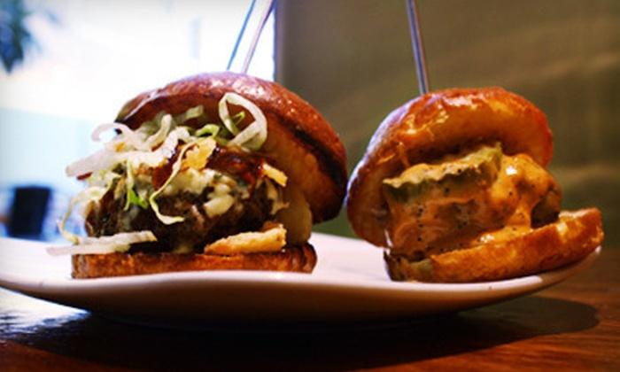Bareburger - Chelsea: $10 for $20 Worth of Organic Burgers and American Fare at Bareburger