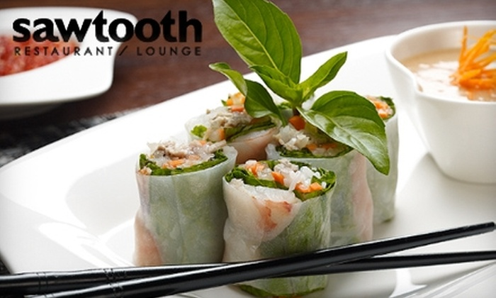 Sawtooth Restaurant and Lounge - West Loop: $15 for $30 Worth of Modern Vietnamese Cuisine at Sawtooth Restaurant and Lounge