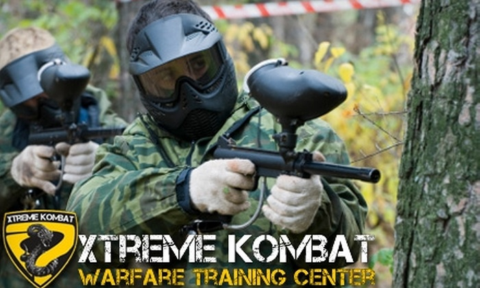 Xtreme Kombat - Carr: $25 Paintball Premium Package at Xtreme Kombat ($70 Value)