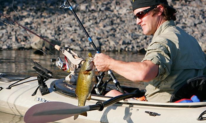 eNRG Kayaking - Oregon City: Weekday or Weekend Introduction to Kayak Fishing Class from eNRG Kayaking (Up to 51% Off)