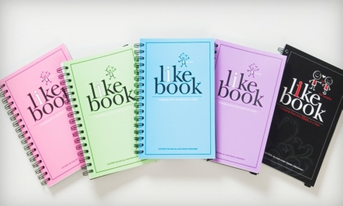 "The I Like Book: $12 for ""I Like Book"", Plus Shipping, from The I Like Book ($24.95 Value)"