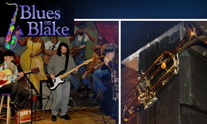 Blues on Blake Supper Club - LoDo: $10 for $25 of Music and Food at Blues on Blake Supper Club
