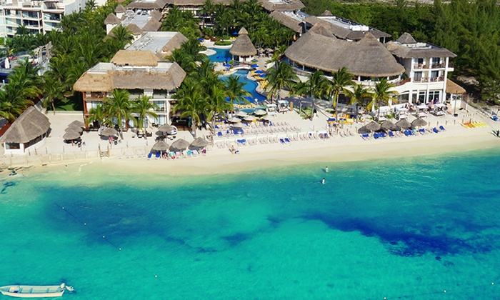 All-Inclusive Resort on Mexico's Riviera Maya with Meals & Drinks