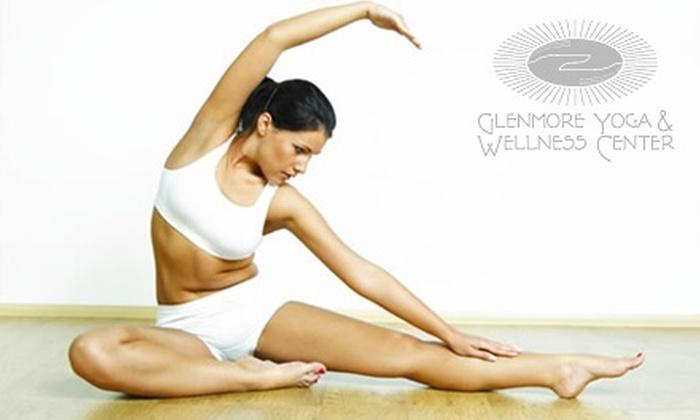 Glenmore Yoga & Wellness Center - Tuckahoe: $17 for Two Yoga Classes at Glenmore Yoga & Wellness Center