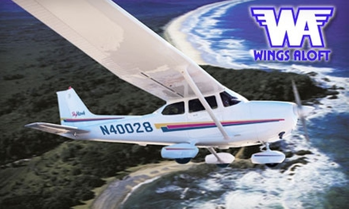 Wings Aloft - Georgetown: $139 for an Introductory Flight Lesson at Wings Aloft