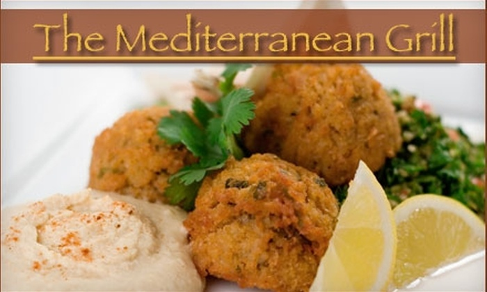 The Mediterranean Grill - Chesterfield: $5 for $10 Worth of Lunch Fare at The Mediterranean Grill (or $12 for $25 Worth of Dinner)