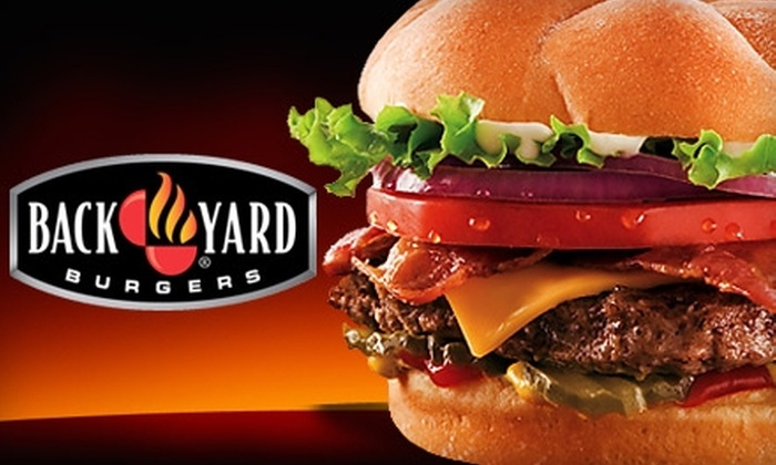 Back Yard Burgers - Multiple Locations: $8 for $16 Worth of Burgers, Sandwiches, Sides, and More at Back Yard Burgers