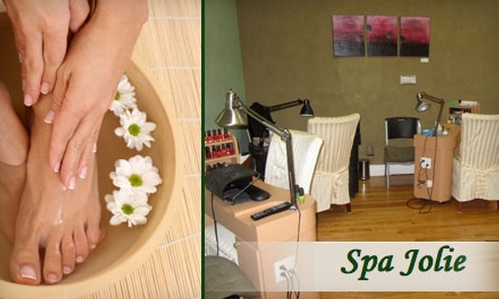 Spa Jolie - East Carrollton: $30 Manicure and Pedicure at Spa Jolie ($65 Value)