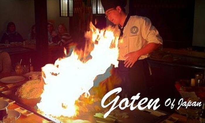 Goten of Japan - Sunderland: $17 for $35 Worth of Japanese Cuisine at Goten of Japan in Sunderland
