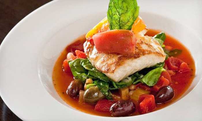 Bistro 1111 at Hyatt Santa Barbara - Santa Barbara, CA: Three-Course Dinner with Wine for Two or Four at Bistro 1111 at Hyatt Santa Barbara (Up to 56% Off)