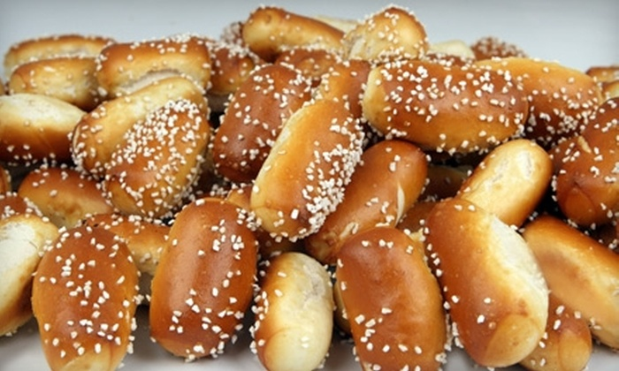 Philly Pretzel Factory - Multiple Locations: Pretzels or Full Rivet Party Tray at Philly Pretzel Factory. Four Locations Available.