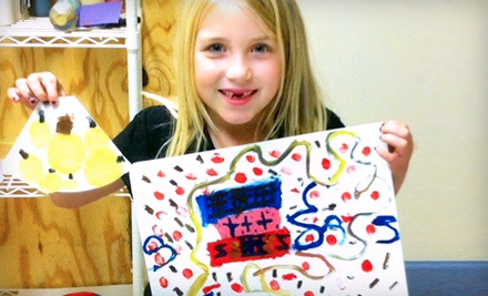 2-Hour Print Making Class for 1 Child Ages 5-12 (a $29 value) - Violet Art Studios in Madison