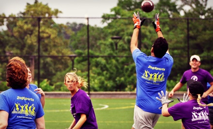 1 Individual Full-Season Sports-League Registration (up to a $105 value) - ZogSportsDC in