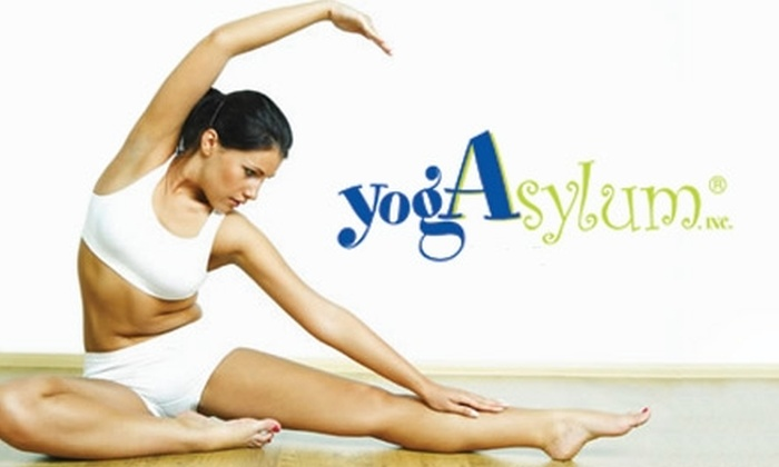 YogAsylum - Brookfield: $18 for 10 Drop-In Yoga Classes at YogAsylum in Brookfield ($150 Value)