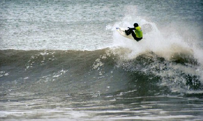 Dacane Surf Shop - Downtown Halifax: $25 for a Winter Surfing Equipment-Rental Package with Board, Wetsuit, and Soft Rack at Dacane Surf Shop ($69 Value)