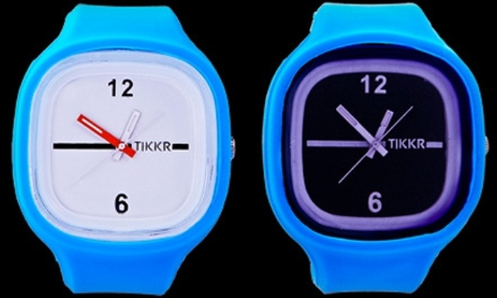 Tikkr: US$49 for a Wristwatch and Two Extra Bands from Tikkr (US$105 Value)