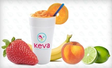 $10 Groupon to Keva Juice - Keva Juice in Lubbock