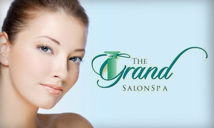 The Grand SalonSpa - Central Beaverton: $49 for $100 Worth of Beauty and Relaxation Services at The Grand SalonSpa