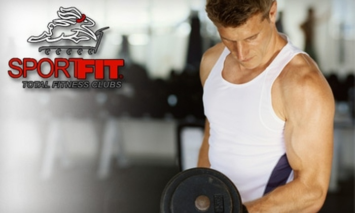 Sport Fit - Multiple Locations: $19 for a 30-Day Gold Membership to Sport Fit ($70 Value). Choose from Three Locations.