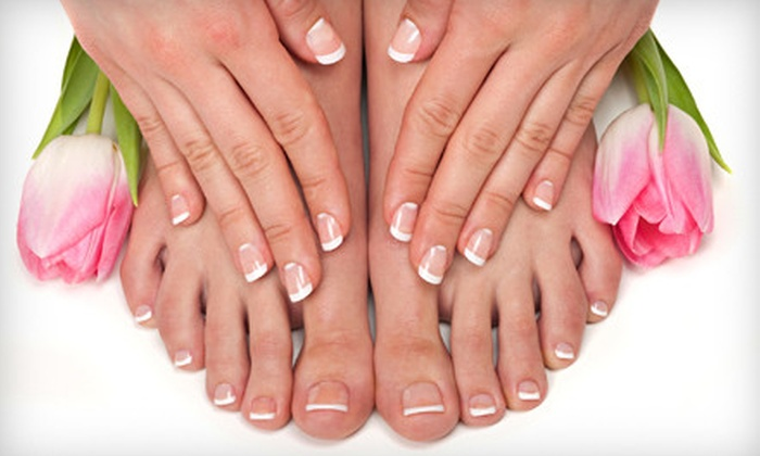 Agave Nails - Northwest: $30 for Basic Manicure and Pedicure at Agave Nails ($65 Value)