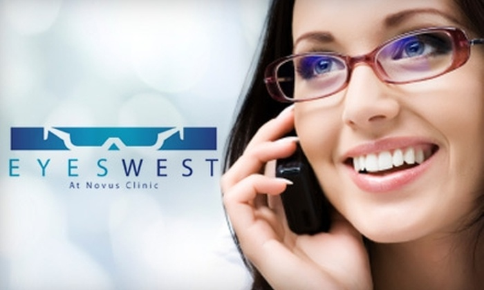 Novus Clinic - Multiple Locations: $50 for $200 Worth of Frames and Lenses at Novus Clinic