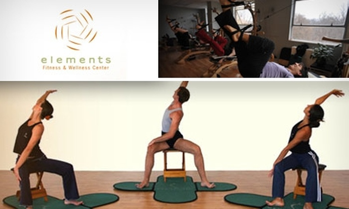 Elements Fitness and Wellness Center LLC - Glover Park: $36 for Three GYROTONIC Group Classes at Elements Fitness and Wellness Center