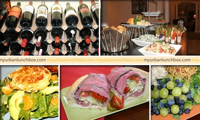 Urban Lunchbox - Palma Ceia: $5 for $10 Worth of Lunch Fare and Drinks at Urban Lunchbox