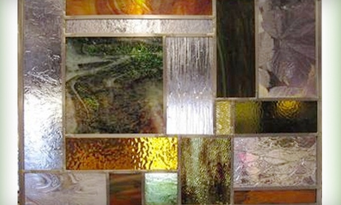 Creations Unique - McAlister Parkway: $49 for a Four-Hour Stained Glass Panel-Making Class at Creations Unique ($98 Value)