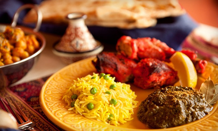 Monsoon India - Waikiki: Indian Fare at Monsoon India (Up to 52% Off). Two Options Available.