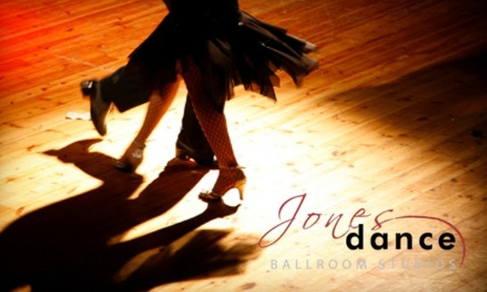 Jones Dance Ballroom Studios - Dacula-Rocky Creek: $49 for Four Drop-In Group Classes and One Private Dance Lesson at Jones Dance Ballroom Studios in Dacula ($135 Value)