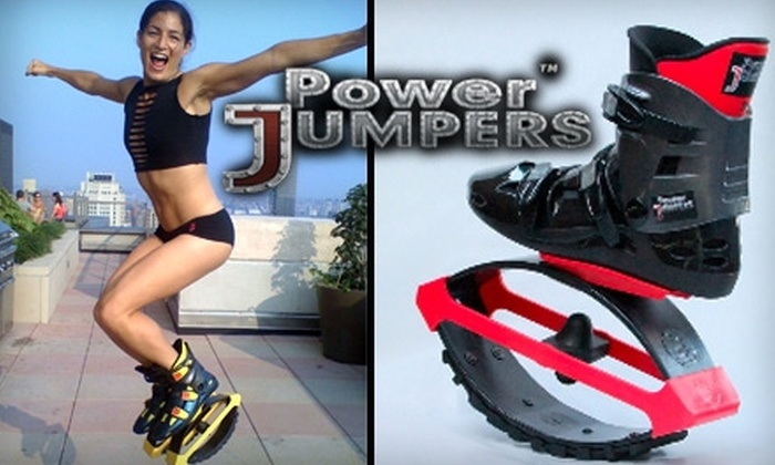 Power Jumpers - New York City: $125 for a Pair of Power Jumpers Exercise Boots ($249 Value)