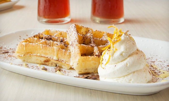 Waffles - South Loop: $18 for Brunch for Two with Milkshakes or Fresh-Squeezed Juice at Waffles (Up to $36.90 Value)