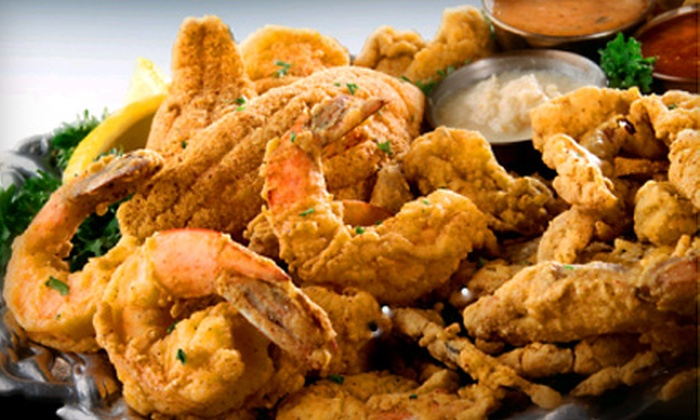 The Fish Place on 529 - Houston: Cajun Seafood Dinner for Four, à la Carte Lunch or Dinner Fare, or Catering Services at The Fish Place on 529 (Up to 54% Off)